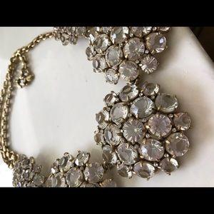 J. Crew Jewelry - 🔥Designer JCrew Gold Crystal studded Necklace🔥
